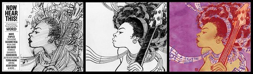 Now Hear This (drawing, sketch and final) - Yuko Shimizu