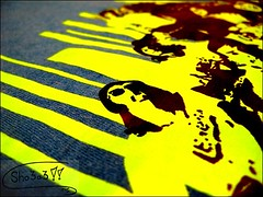 Sound Wave (Hadeel Ibrahim) Tags: blue yellow wave sound