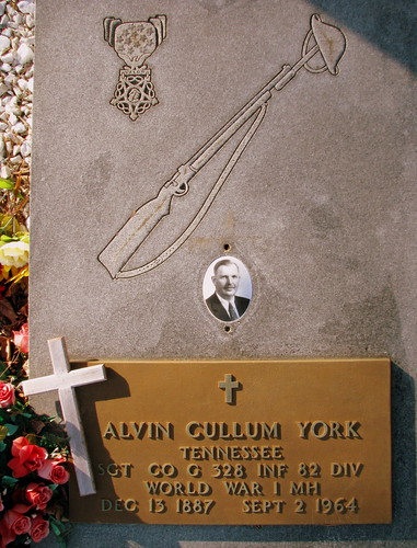 Sgt. Alvin C. York's burial place