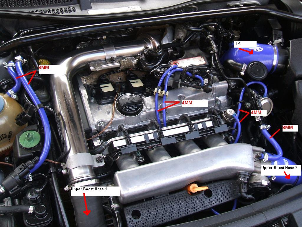 the audi tt forum • view topic - hoses/pipes diagram? audi a4 engine bay fuse box