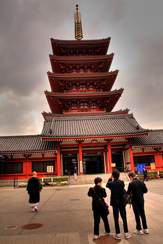 Five Storied Pagoda in Asakusa