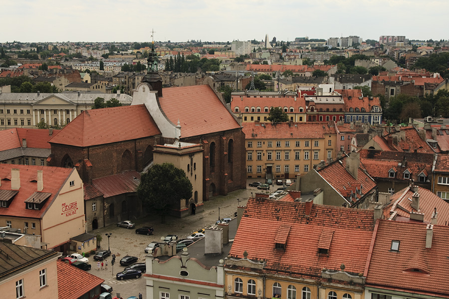 View from City Hall / Kalisz