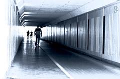 Lightwalk (Jetuma) Tags: light blackandwhite sweden walk karlstad tunel blackwhitephotos worldwidephotowalk jetuma