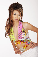 summer colors. (Liz Lieu) Tags: liz studio fashionshoot summercolors lieu lizlieu pokerdiva propokerplayer versacecouture