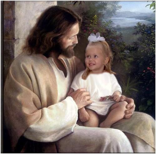 Jesus and Adelaine 12_5_06