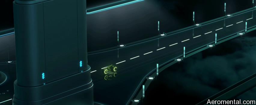 TRON Legacy cool 3D