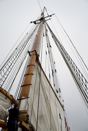 Bluenose II main sail