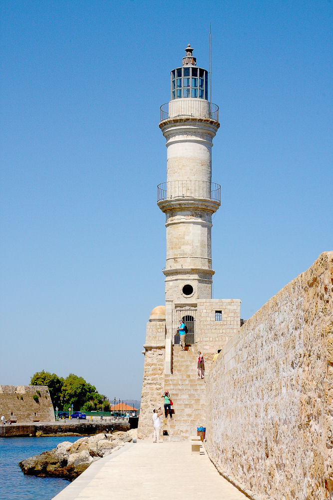 Cretan Images - Chania Lighthouse
