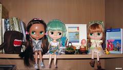 Koko, Lykke and Alamela - off to Japan