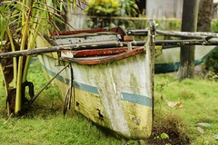 Decrepit baroto (David B. - just passed the 5 million views. Thanks) Tags: beach boat village sony philippines visayas 1870 leyte southernleyte macrohon sonydt1870 sonyalpha700 baroto