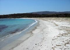 Anse d'Arbitru : la plage vers les propriétés privées