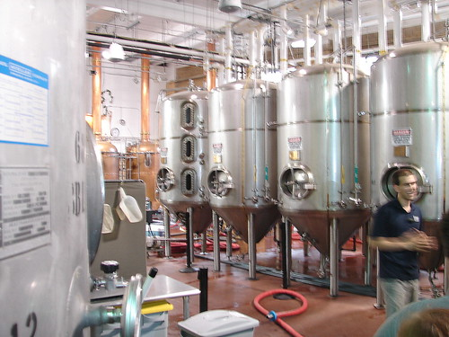the brewing room!
