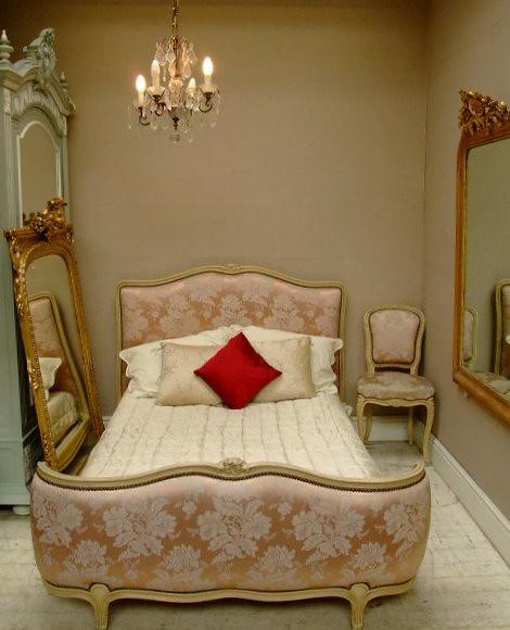 pink frenchantiquefurniturefrenchfurniturefrenchbedsfrenchtablesvintagefurniturewwwfrenchfindscoukfrenchfindsshabbychic frenchcorbeillebed jacquardweavefabric