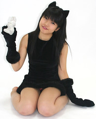 kitty bunny trick on me (shiroibasketshoes hopper) Tags: cute japan female cat asian costume cosplay adorable kitty babe idol singer lovely charming mischief