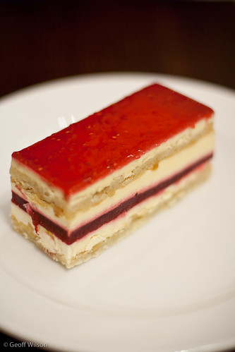 White Chocolate Framboise, Lindt Cafe, Melbourne