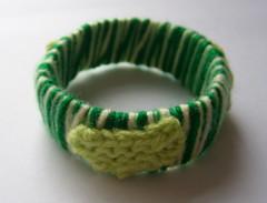 Green Leaf Bracelet