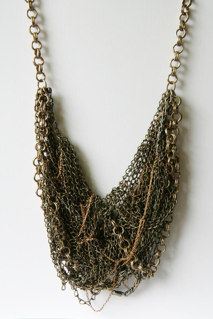multi-chain statement necklace