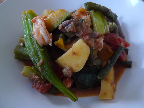 Pinakbet Filipino Vegetable Stew With Shrimp Paste Writing With My Mouth Full