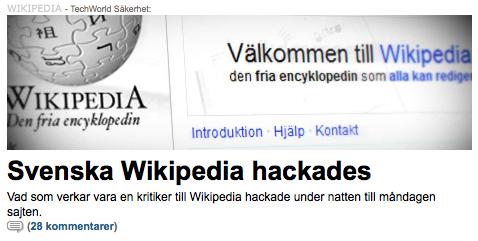 IDG, lyssna nu. Så här funkar Wikipedia