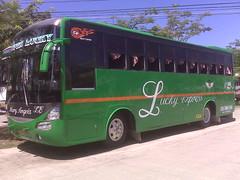 Lucky Express 906 (leszee) Tags: bus motors lucky hd express vigan cp cloned hino copy laoag fascia livery 906 ilocossur kinglong farinas motorpool partex vigancity cpmotors luckyexpress viganmotorpoolnearpublicmarket