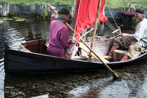 Viking fishing boat