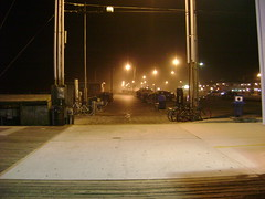 Seaside Heights Boardwalk at night