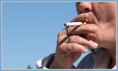 inhaling (tiffa130) Tags: mouth suck hand finger cigarette smoke puff free ring cig creativecommons stockphotos inhale flickrstock photobytiffa
