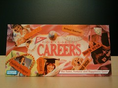 Careers for Girls Board Game Box