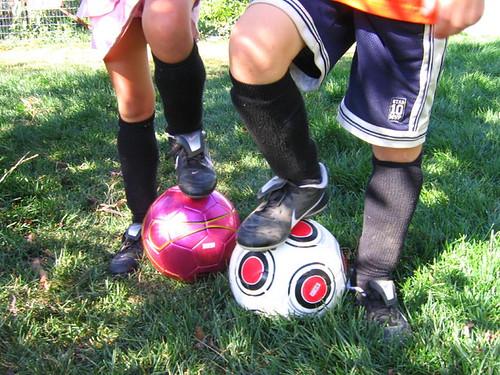 Soccer love!