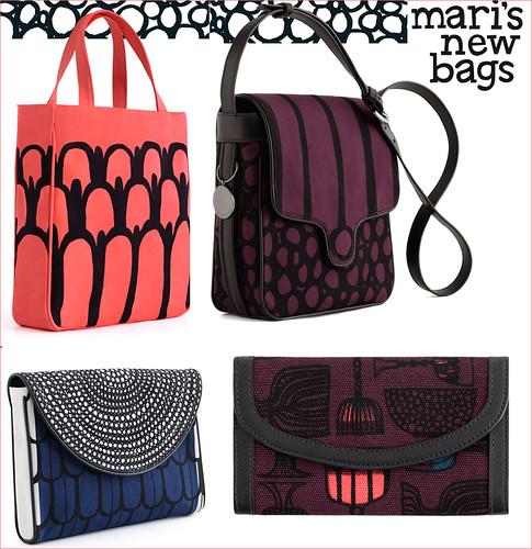 Marimekko's New Autumn bags