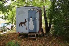 School caravan (Alda Kalda) Tags: climatechange ecovillage dyssekilde think2