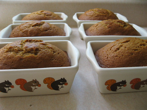 pumpkin breads ~ finished