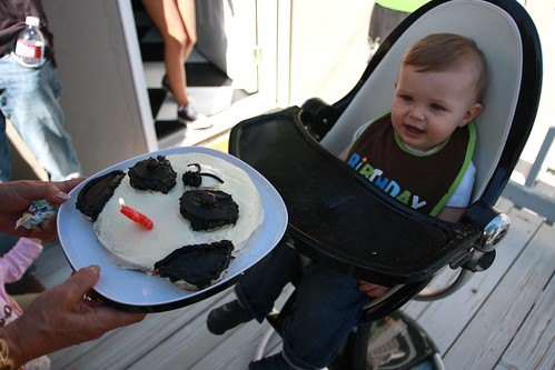 coop, here's your smash cake!