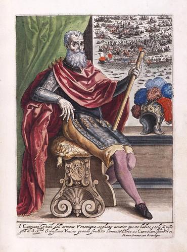 007-Capitan General de la armada veneciana-Habiti d'hvomeni et donne venetiane 1609