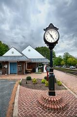 Ashland Train Station Clock (Sky Noir) Tags: travel sky station train virginia nikon noir sigma amtrak va 1020 ashland hdr rva rfp skynoir bybilldickinsonskynoircom