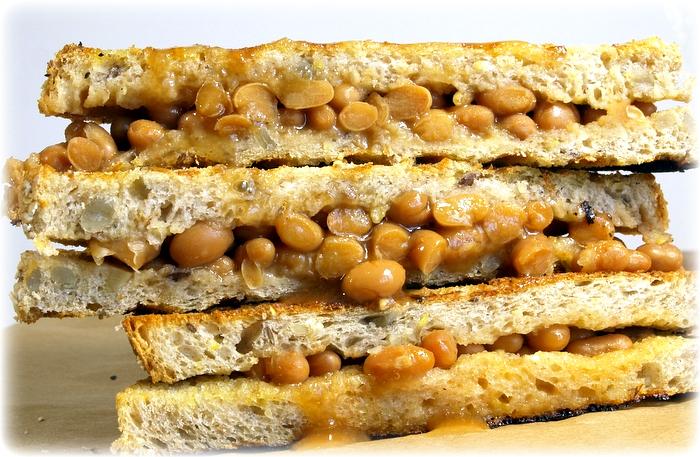baked bean panini_mykitchenmoovement