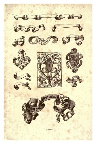 022- Etiquetas siglo XVI-The hand book of mediaeval alphabets and devices (1856)- Henry Shaw