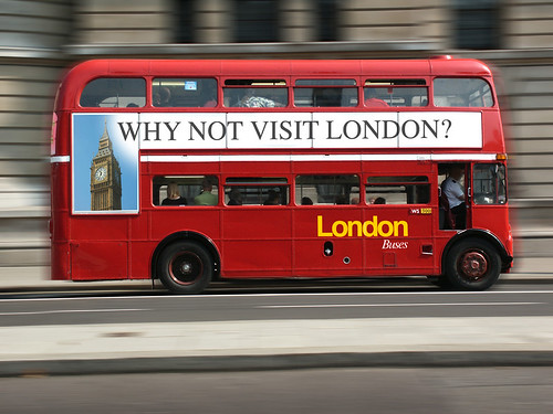 Why Not Visit London Bus