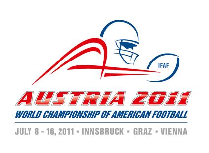 American Football WM Austria 2011 Logo