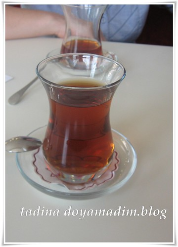 bir bardak çay