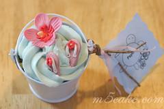 Luau cupcakes - 5