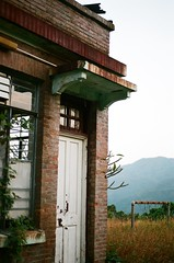 Forward (David Wieland) Tags: design documentation deserted dilapidated abandon abandoned decay old house empty building beach urban forgotten rural ruin broken city decayed industrial sky alone lonely ruins rust sand sea door desolate island church rusty ghosttown desert clouds dark road weathered urbex haunted chairs brick light wall buildings vacant country overgrown architecture forsaken urbanexploration white winter nikon fe2 analogue film colour color colours colors window windows hongkong china asia