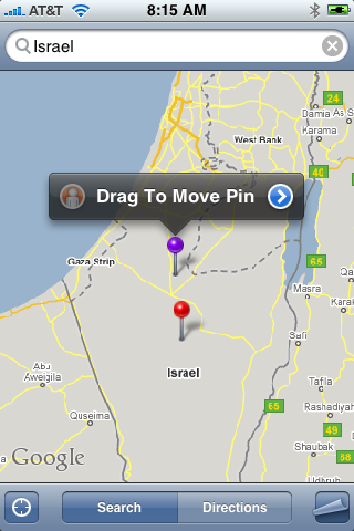 how to drop a pin on iphone how to get a locations longitude latitude using 20027