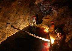Flooded Stope - Parys Mine (dudley bug) Tags: mine pug caves copper caving spelunking anglesey parys caver parysmine parysundergroundgroup
