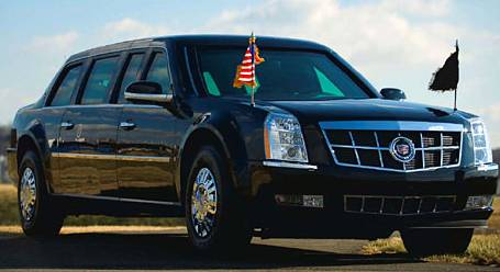 Barack Obama's Armored Limo