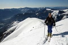 2009.01.11 cima delle Pianchette, CO (18) (samuele striatto) Tags: como lago di campo scialpinismo cima croce rifugio gino pizzo delle pianchette menaggio porlezza valcavargna