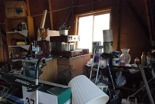 piles of stuff!