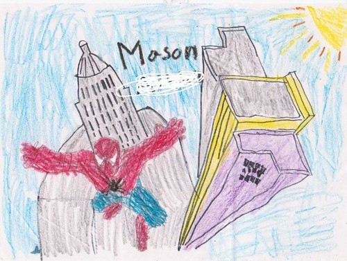 mason spiderman