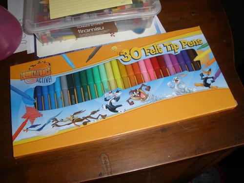 New felt tip pens for H