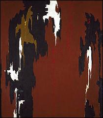 Still, Clyfford - 1946 Indian Red and Black (Smithsonian Institution) (RasMarley) Tags: abstract smithsonian still 1940s painter 20thcentury colorfield 1946 clyffordstill abstractexpressionism indianredandblack